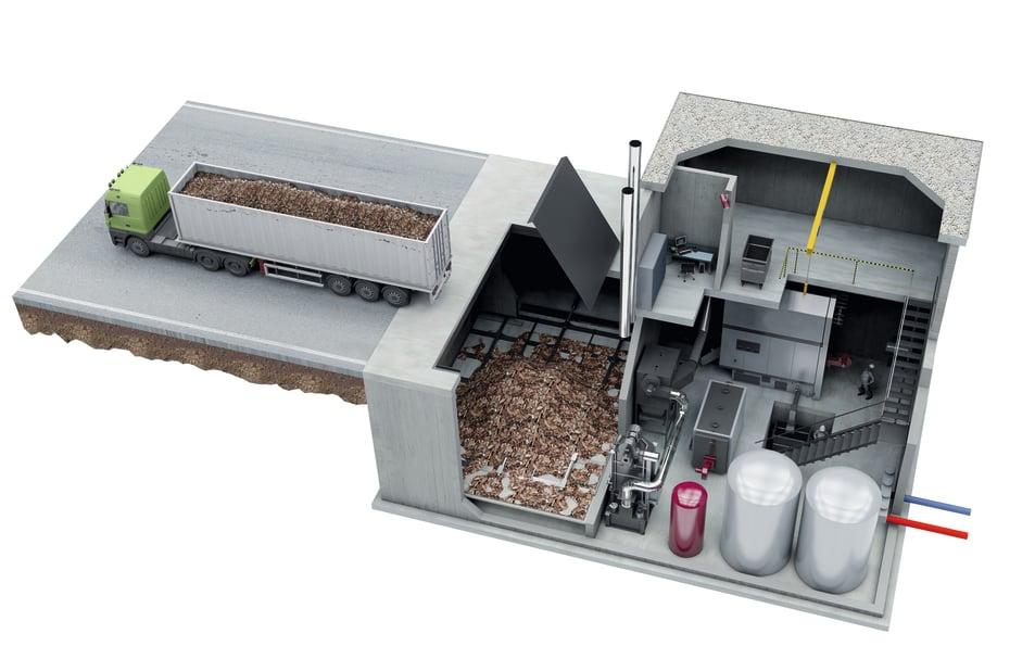 installazione caldaia a biomassa