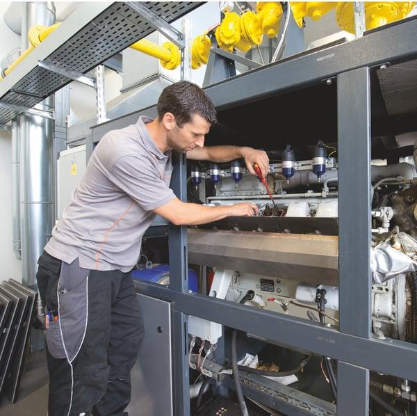 manutenzione cogeneratore