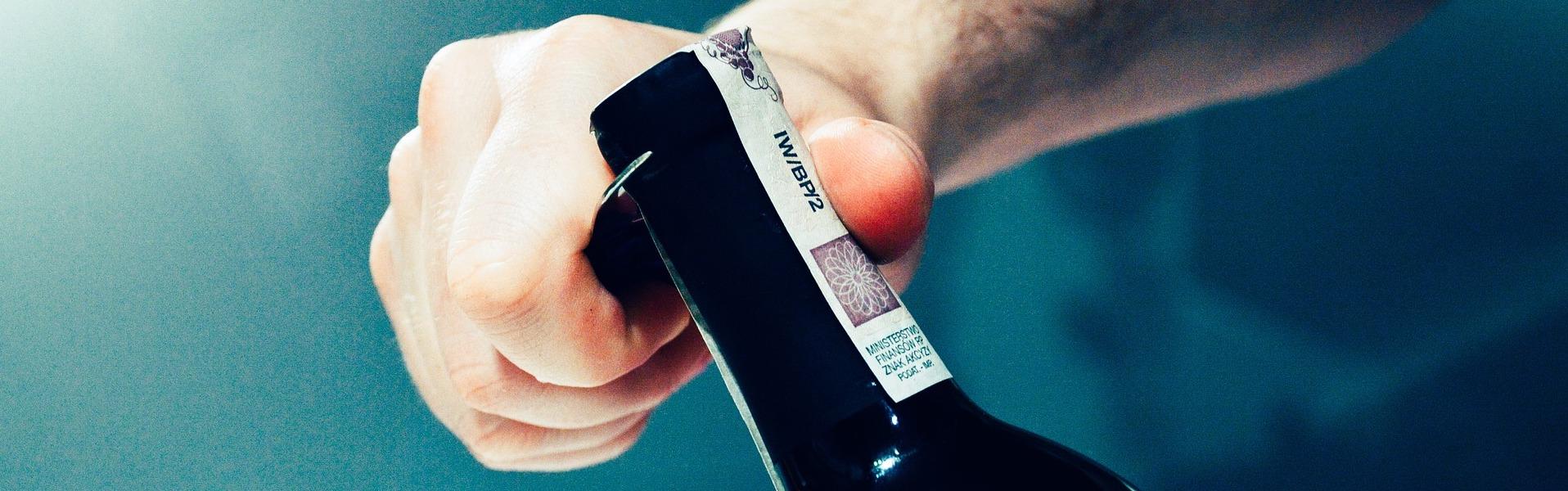 imbottigliamento vino con utilizzo vapore